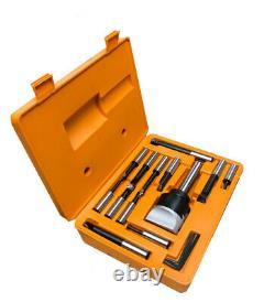 12 Pc 3/4 Boring Bar Set 3 Inch Boring head Set With 1'' Shank Carbide Tipped