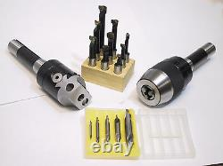 2 Boring Head R8 Shank Set Combo out of stock