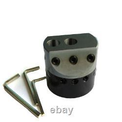 3 Boring Head Set NT40/ ISO40 Shank 12 Carbide Tipped Bars 3/4 boring Milling