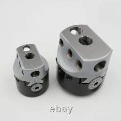 3 Boring head R8 Shank 12pcs Carbide Tipped Boring Bar Set Combo