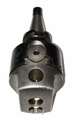 3 CRITERION DBL-203 OFFSET BORING HEAD With #30 NMTB QUICK CHANGE SHANK