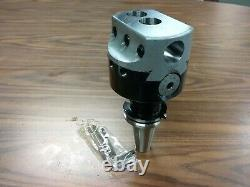 4'' PRECISION ADJUSTABLE BORING HEAD WITH CAT40 SHANK w. 1 hole #820-new
