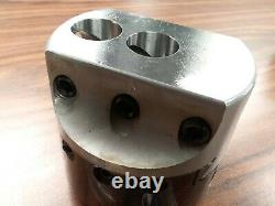 4'' PRECISION ADJUSTABLE BORING HEAD without shank w. 1 hole #820-000-new