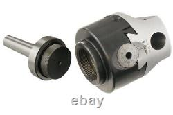 75mm UNIVERSAL USAGE BORING HEAD WITH MT2 MORSE TAPER SHANK