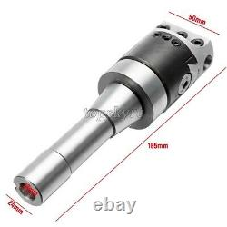 9Pcs 2 Precise R8 Boring Head R8 Shank Carbide Boring Tool for Milling Machine