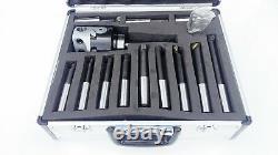 Amadeal 75mm Boring Head Set With MT3 Shank 12pc Boring bars
