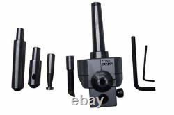 Boring Head 62 MM With Mt2 Shank + 4 Pcs Indexable Boring Bars Tcmt New Set