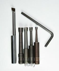 Bridgeport #1 Boring Head R8 Shank 3/8 Tools Case Free Shipping