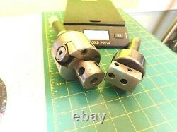 Bridgeport Boring Head R8 No. 1 &1- Larger unmarked Boring Head withNew R8 Shank