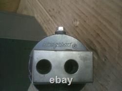 Bridgeport No. 2 Boring Head with 3/4 strait shank Original Box
