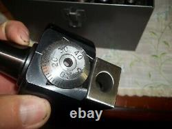 Bridgeport No. 2 R8 Shank Boring Head And Accessories Case-machinist Tools
