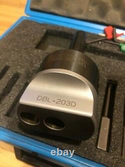 CRITERION 3/4 BORING HEAD #DBL-203 with R8 SHANK with full kit