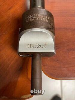 CRITERION DBL-202 ADJUSTABLE BORING HEAD With BORING BAR / STRAIGHT SHANK 1