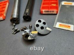 ¾ Carbide Shank to SL 20 Adapter A570 & Head Damped Boring Bar Machinst Silent