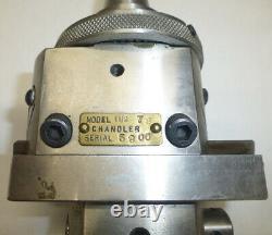 Chandler Duplex Automatic Boring Head #1-1/2, R8 Shank for Bridgeport Mills