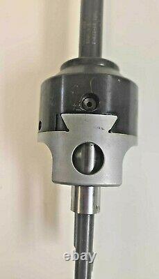 Criterion DBL-203 Boring Head For Bridgeport Mill 3/4 Shank Carbide Tip Bars