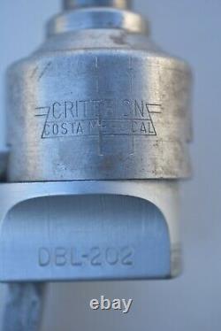 Criterion boring head DBL-202, 1/2 shank, with bit