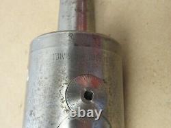 E. GROB Type AF 3 Morse Taper Shank MT4 Boring Head (1 Div = 0.0005)