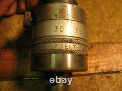 Erickson Tool Co no 37 Tenthset Boring Head #2 MT Morse Shank 2-60-152-500