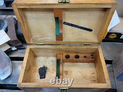 Flawless Tree boring head with 3/4 straight shank, withbox, manuals, accessories