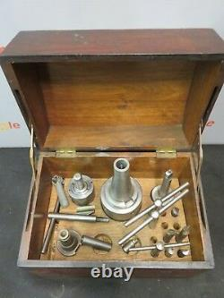 Flynn Manufacturing Boring Head 8 Milling Shank Machinist Lathe Tool Box