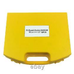 HFS 12Pc 3 Boring Head R8 Shank 3/4 Carbide Boring Bar Set Bridgeport Milling