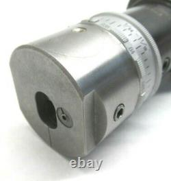 KAISER 1/64 to 1-1/16 PRECISION BORING HEAD with CAT40 SHANK- 10mm TOOL CAPACITY