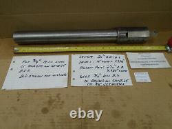 LARGE Lathe Boring Bar 2 Shank 2-1/2 Head 20 Long with 3/4 Bit Holder D412
