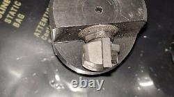 Lot Of 2 Carboloy Adjustable Boring Head Det. 4 Td-74401 Det. 3 1/2 Shank