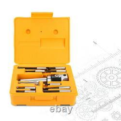 MT4-16 Arbor Adapter Taper Shank F1-12 50mm Boring Head 9pcs 12mm Boring Bar Kit