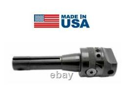 Made in USA 2 x 3/8 (Hole) x R8 Integrated Shank Precision Boring Head