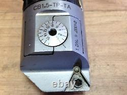 NICE CRITERION CB1.5 TP TA INDEXABLE BORING HEAD. 0001 With 1 1/4 SHANK