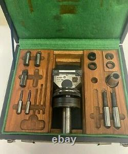Narex VHU 1-3/8 Universal Boring Facing Head Morse Taper shank Bridgeport Mill