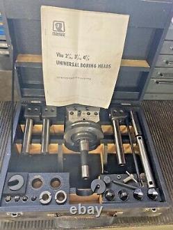 Narex VHU2-1/8 Automatic Boring Facing Head R8 Shank Bridgeport Milling Machine