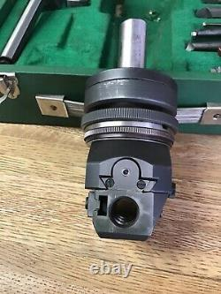 Narex Vhu 1 3/8 Automatic Boring & Facing Head 40097 + R8 Shank & Accessories