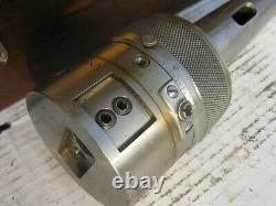 Precision Tool co. Boring & facing head 3-3/8 D, #5 MT shank, takes 3/4 D