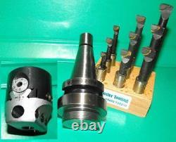 QC30 shank, 50mm Boring Head and 9 piece boring bar set ISO DIN2080 SK30