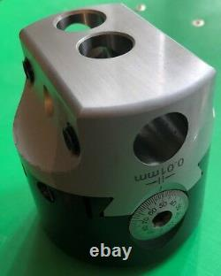 QC30 shank 75mm Boring Head, boring bar with 10 inserts ISO DIN2080 SK30