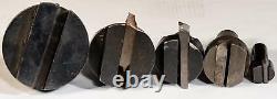 Set 5 Fly Cutter Boring Head 3/4 Shank 5/16 Holder Milling Machine Tool