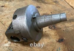 Used Flynn Mfg Co. Detroit 68 Precision Adjustable Boring Head with Cat 50 Shank