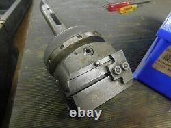 Wohlhaupter UPA-4 Boring & Facing Head #4 Morse Taper Shank